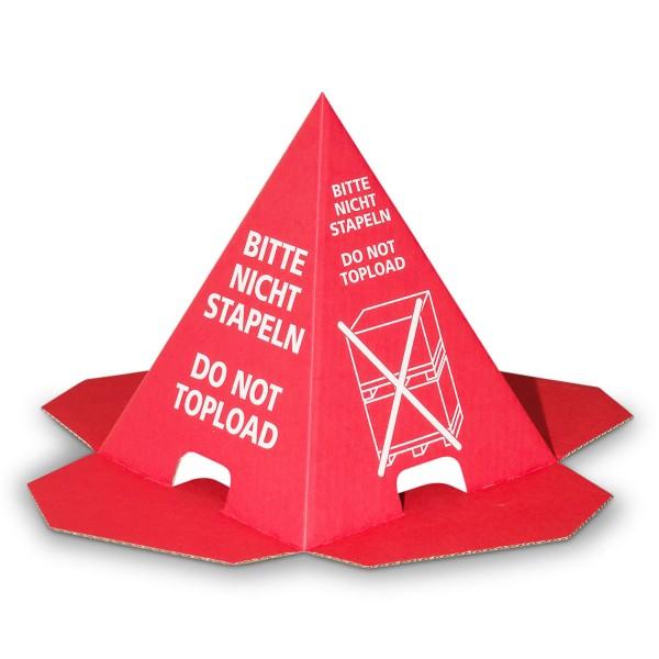 Stapelschutz Pyramide, 195x270 mm