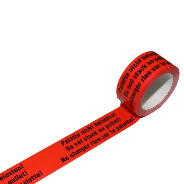"""Warnband """"Palette nicht belasten"""", 50 mm breit"""
