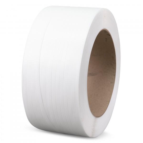 PP-Umreifungsband für Halbautomaten, 12 mm breit, Stärke: 0,55 mm