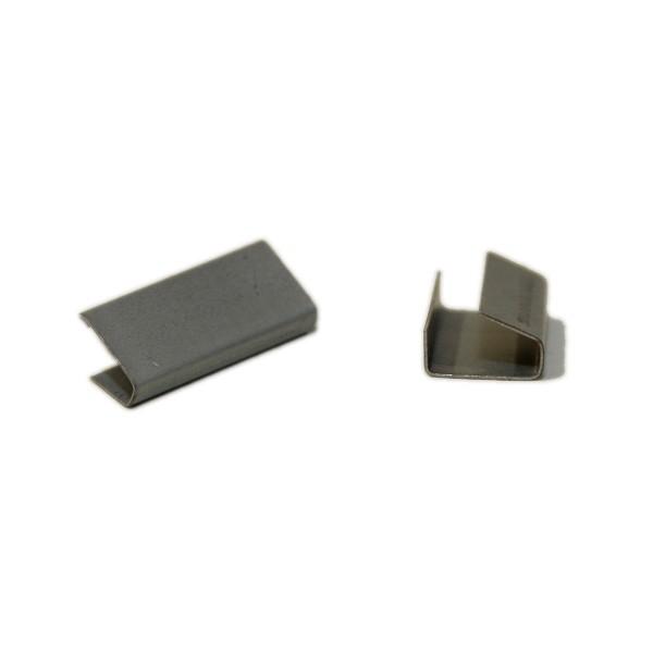Metall-Verschlusshülsen für Central-Geräte, 13x33x0,5 mm