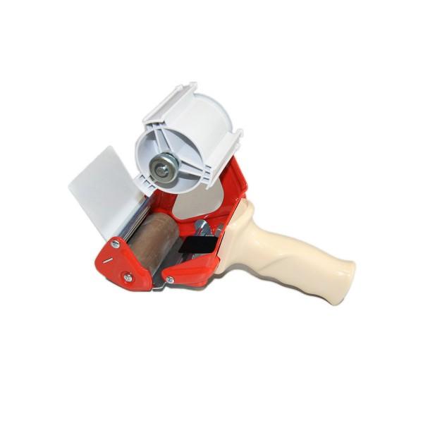 Klebebandabroller mit Bremse, bis 75 mm Breite